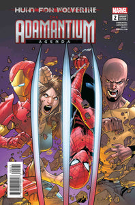 HUNT FOR WOLVERINE ADAMANTIUM AGENDA #2 (OF 4) SILVA VAR (06/13/2018)