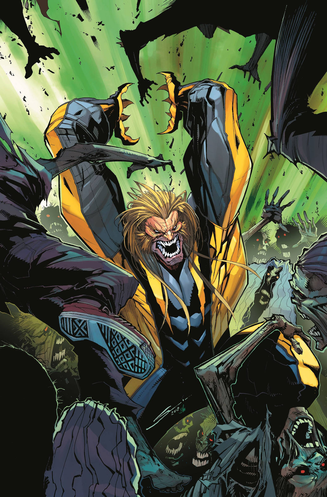 HUNT FOR WOLVERINE CLAWS OF KILLER #2 (OF 4) SHAW VAR (06/20/2018)