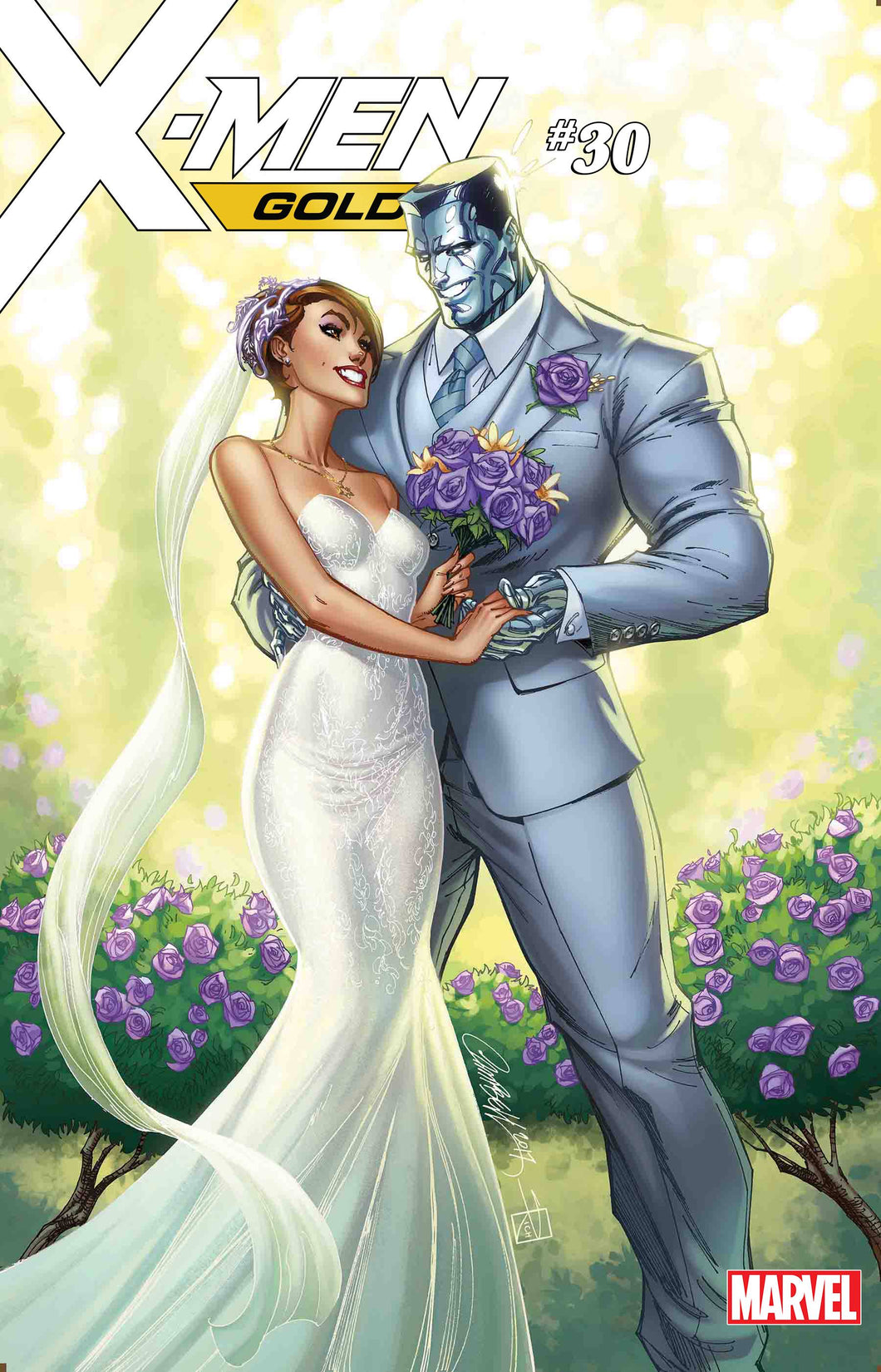 X-MEN GOLD #30 JSC KITTY & COLOSSUS VAR (06/20/2018)