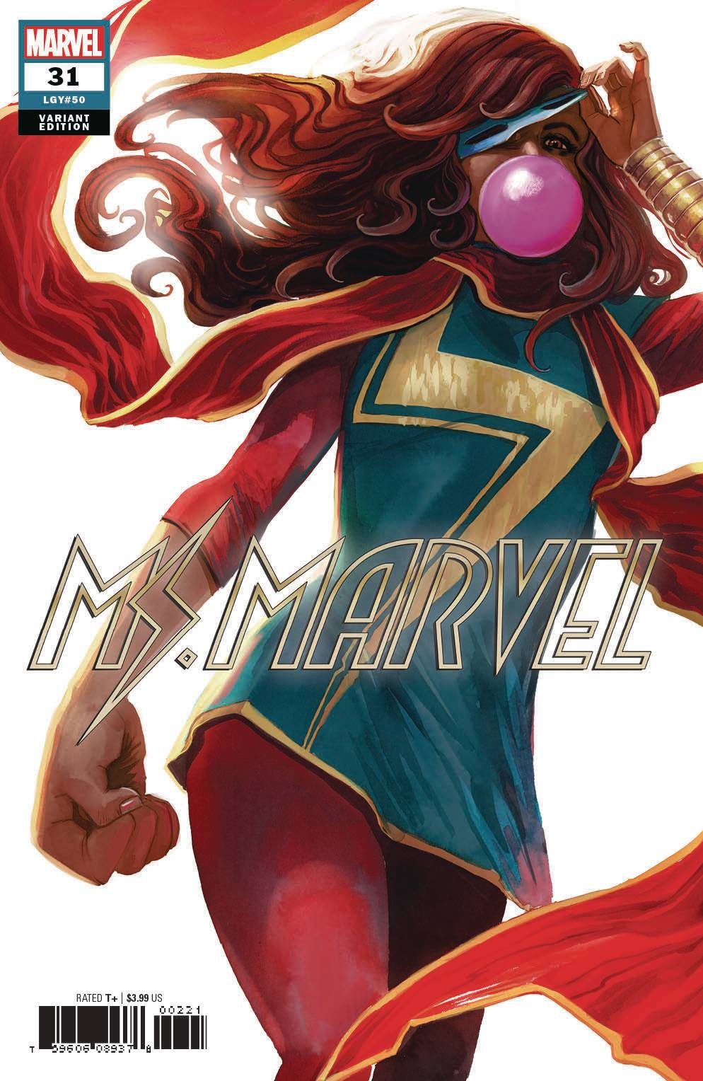 MS MARVEL #31 HANS VAR (06/27/2018)