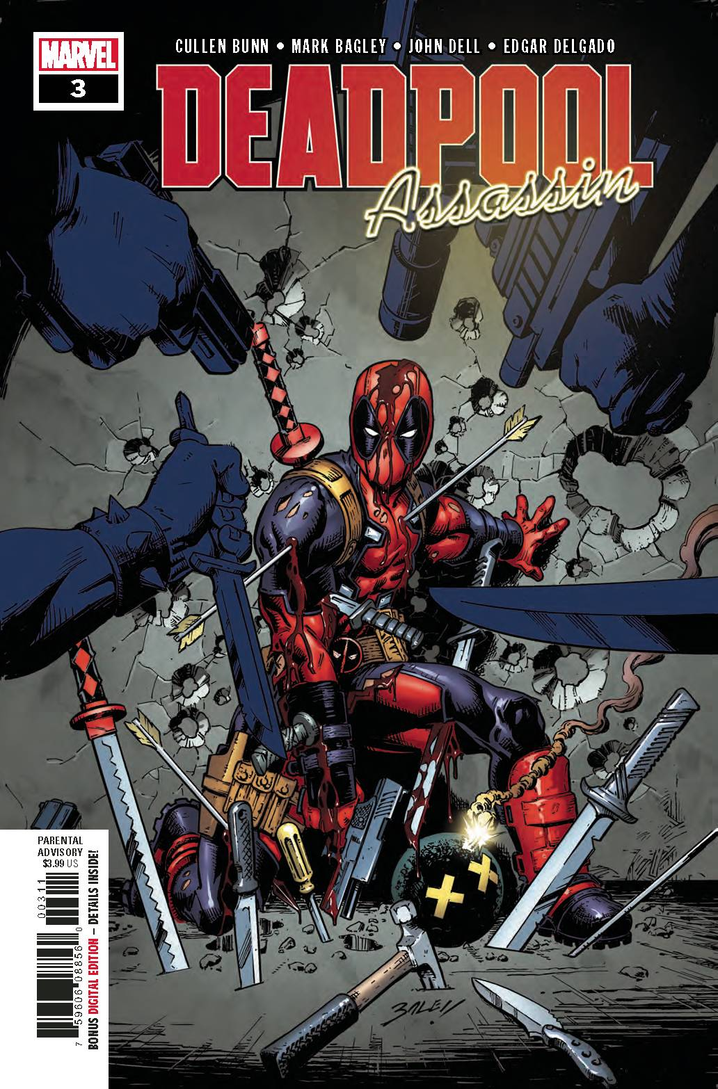 DEADPOOL ASSASSIN #3 (OF 6) (07/11/2018)