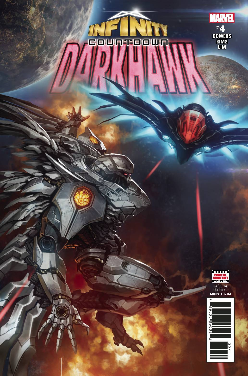 INFINITY COUNTDOWN DARKHAWK #4 (OF 4) (07/11/2018)
