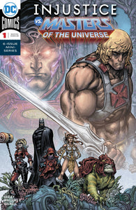 INJUSTICE VS THE MASTERS OF THE UNIVERSE #1 (OF 6) (07/18/2018)