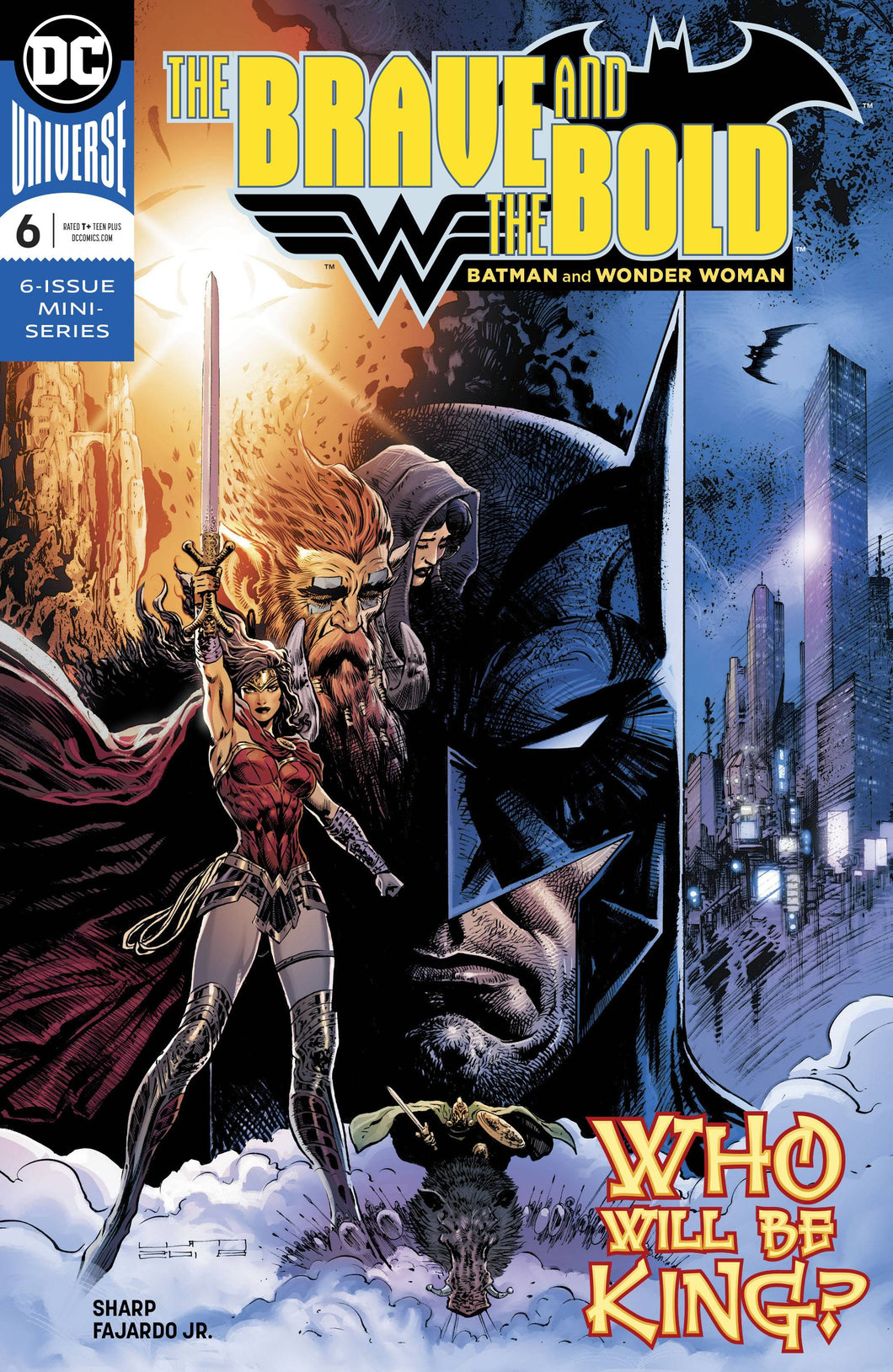 BRAVE & THE BOLD BATMAN & WONDER WOMAN #6 (OF 6) (07/18/2018)