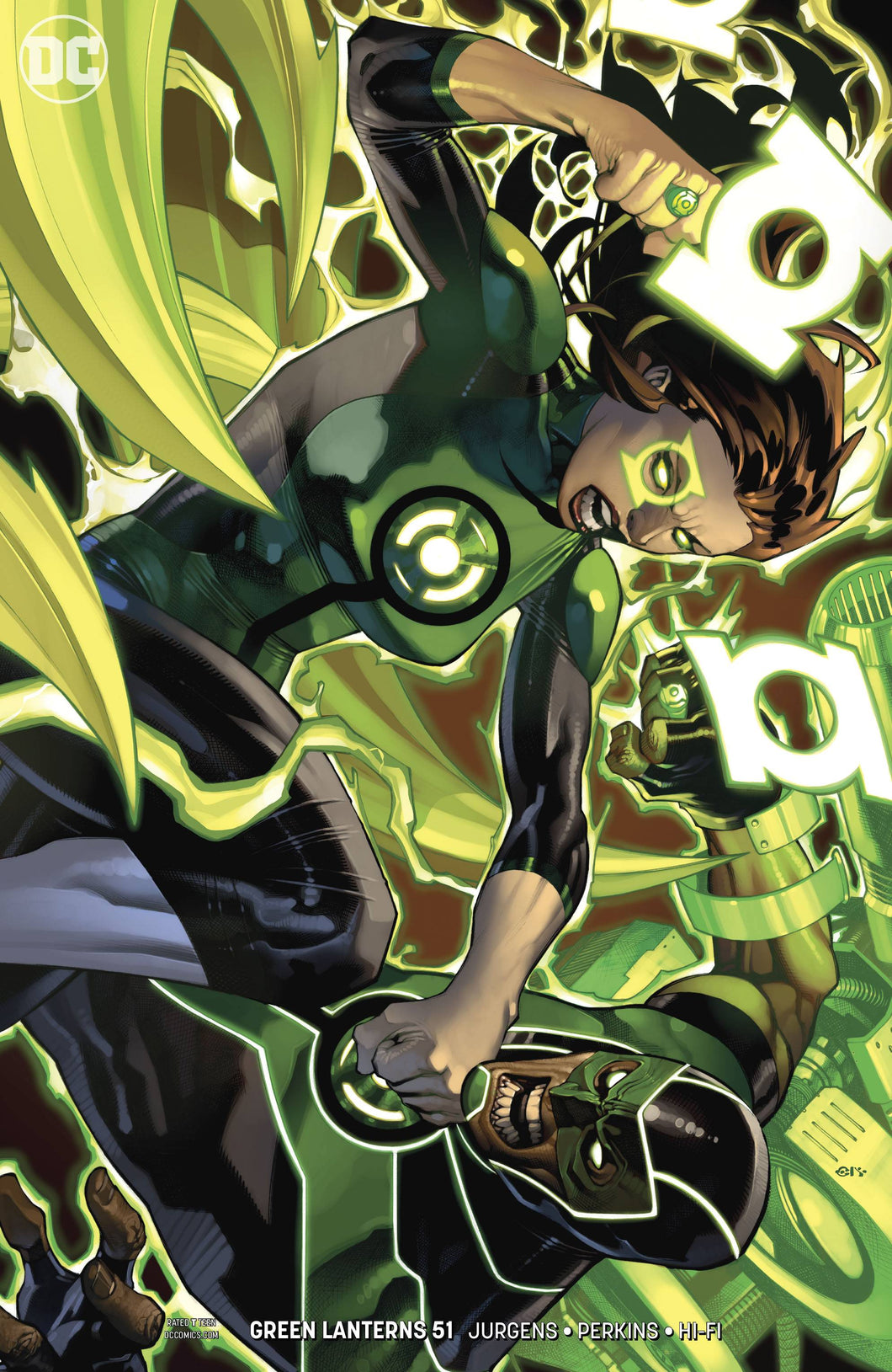 GREEN LANTERNS #51 VAR ED (07/18/2018)
