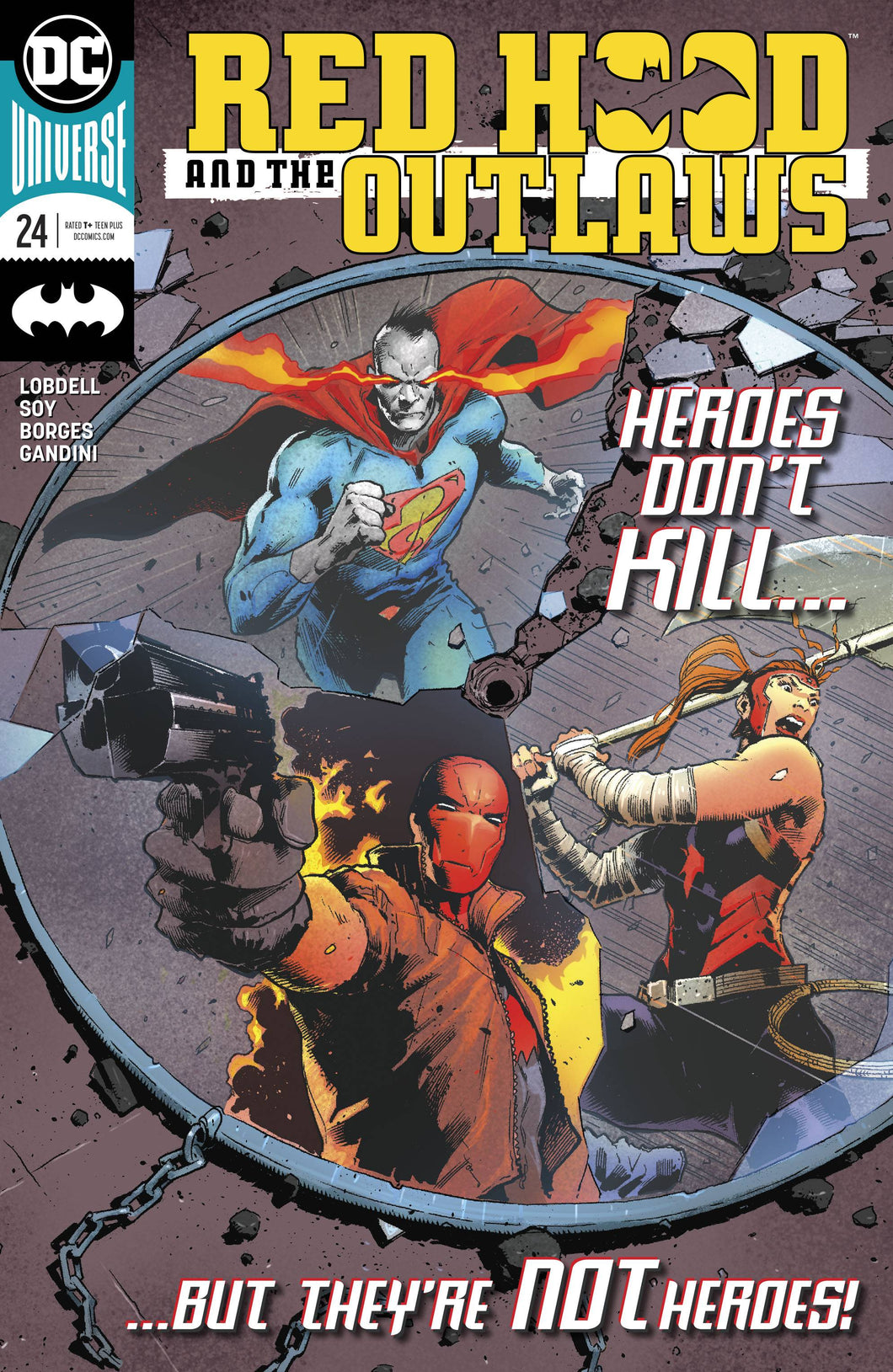 RED HOOD AND THE OUTLAWS #24 (07/11/2018)