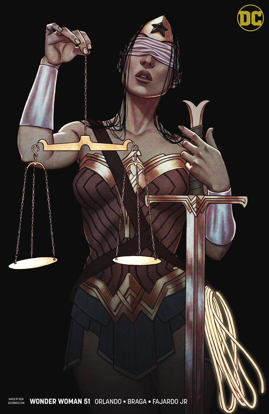 WONDER WOMAN #51 VAR ED (07/25/2018)