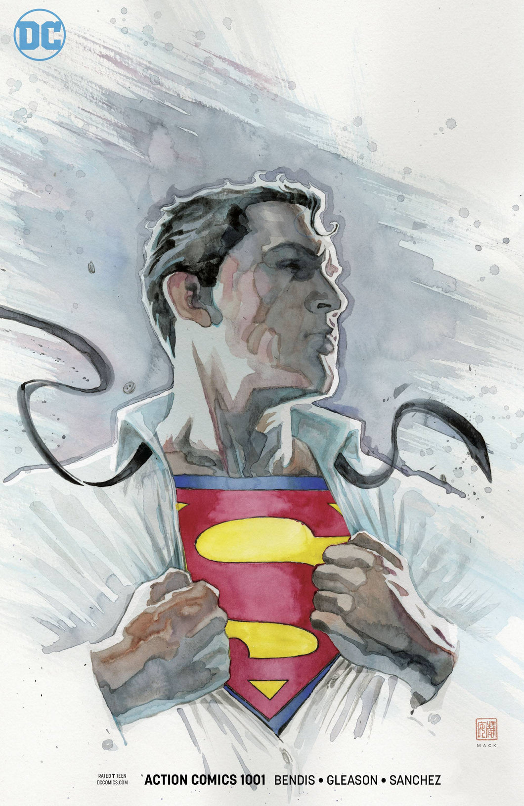 ACTION COMICS #1001 MACK VAR ED (07/25/2018)
