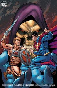 INJUSTICE VS THE MASTERS OF THE UNIVERSE #1 (OF 6) VAR ED (07/18/2018)