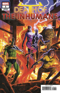 DEATH OF INHUMANS #1 (OF 5) HILDEBRANDT VAR VF/NM (07/04/2018)
