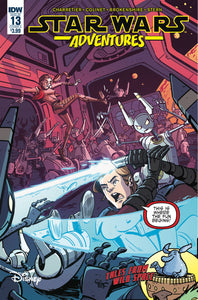 STAR WARS ADVENTURES #13 CVR A CHARRETIER (08/29/2018)