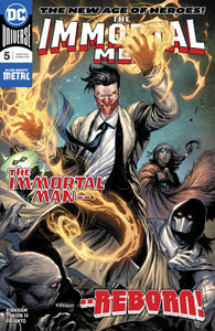 IMMORTAL MEN #5 (08/08/2018)
