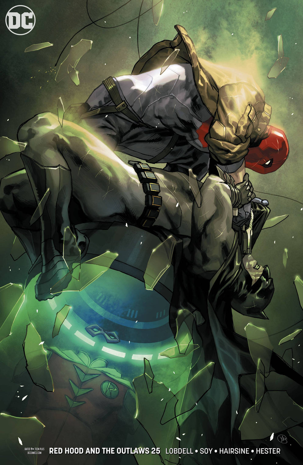 RED HOOD AND THE OUTLAWS #25 VAR ED (08/08/2018)