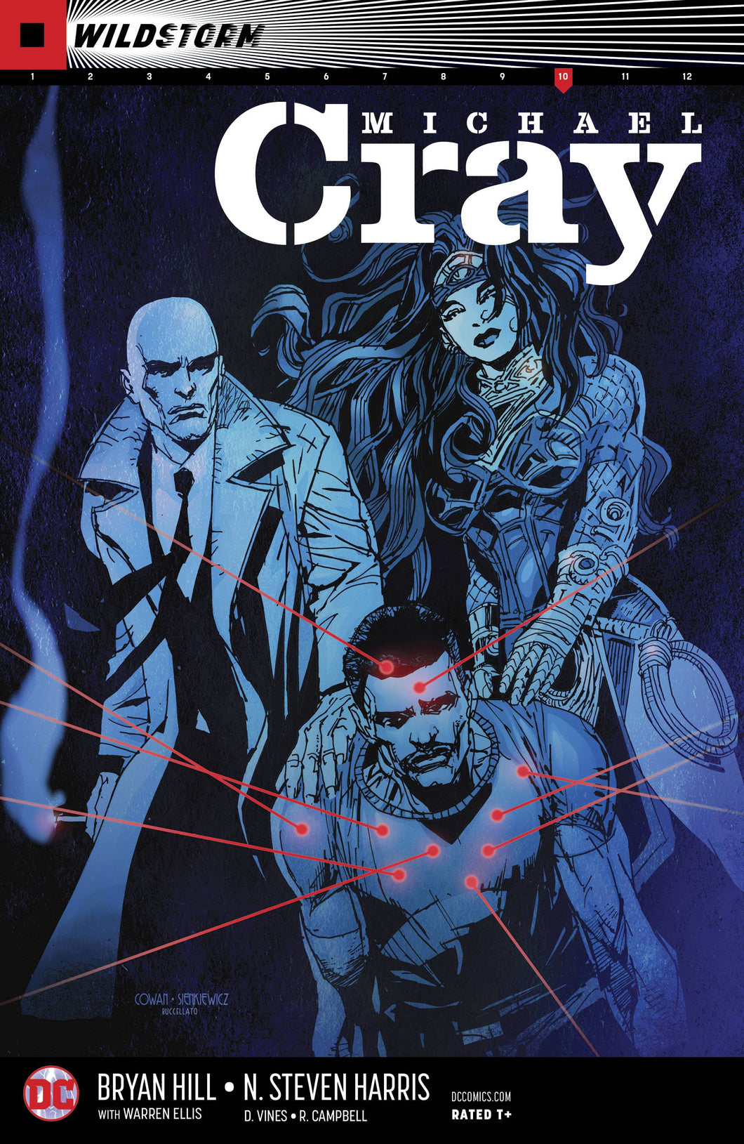 WILDSTORM MICHAEL CRAY #10 (08/08/2018)