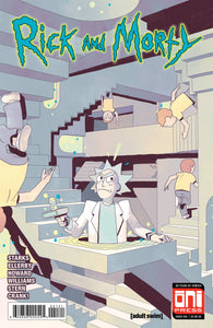 RICK & MORTY #41 CVR B SMART VAR (08/29/2018)
