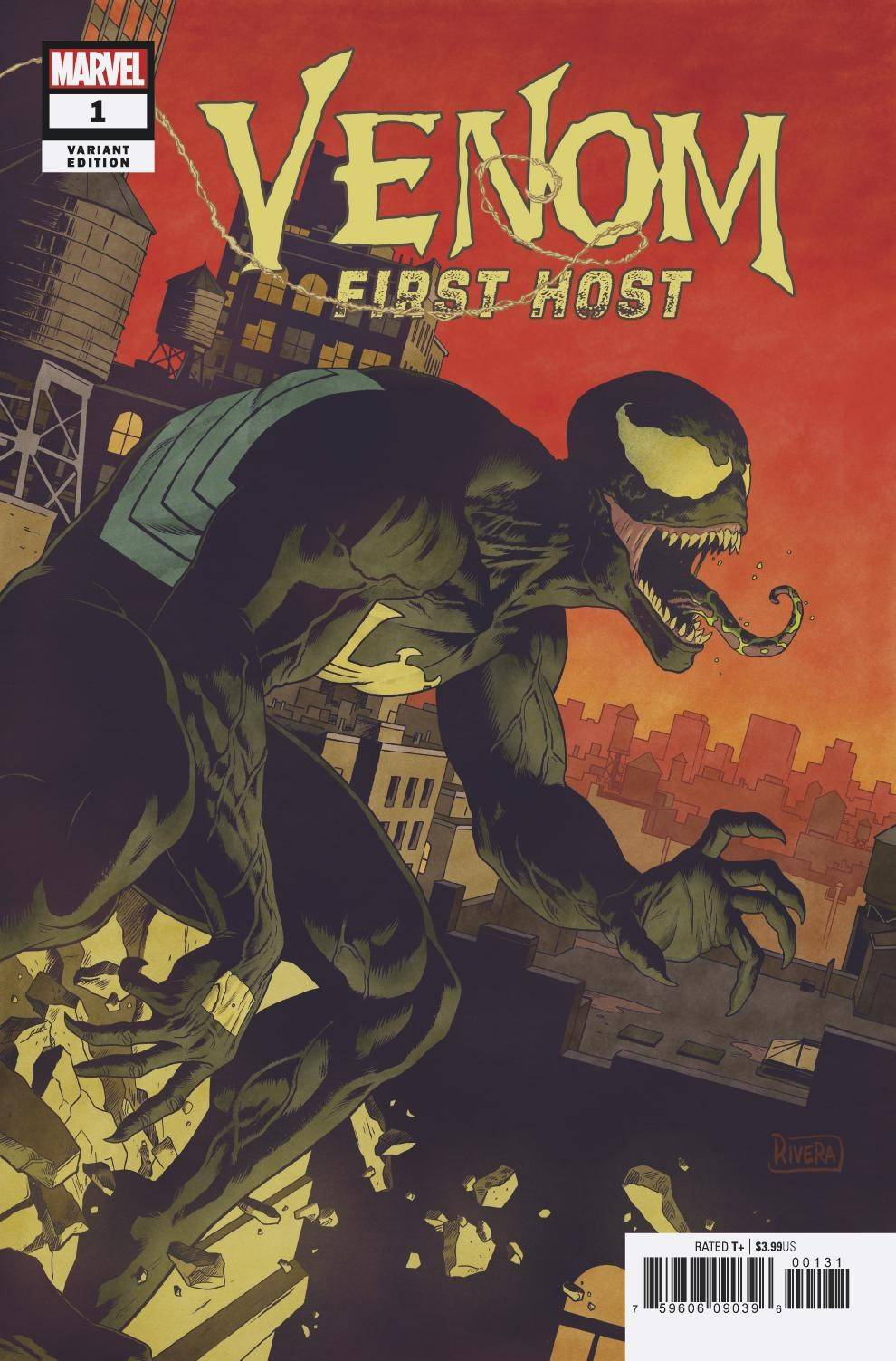 VENOM FIRST HOST #1 (OF 5) RIVERA VAR (08/29/2018)