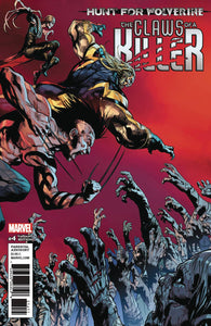 HUNT FOR WOLVERINE CLAWS OF KILLER #4 (OF 4) SHAW VAR (08/15/2018)