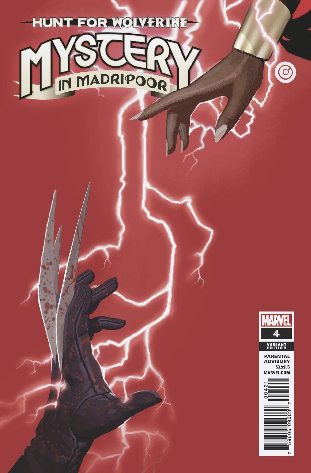 HUNT FOR WOLVERINE MYSTERY MADRIPOOR #4 (OF 4) BACHALO VAR (08/22/2018)