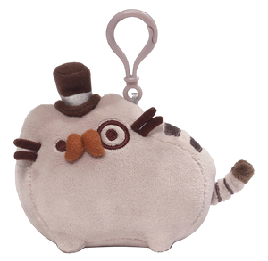 PUSHEEN FANCY 4.5-INCH BACKPACK CLIP