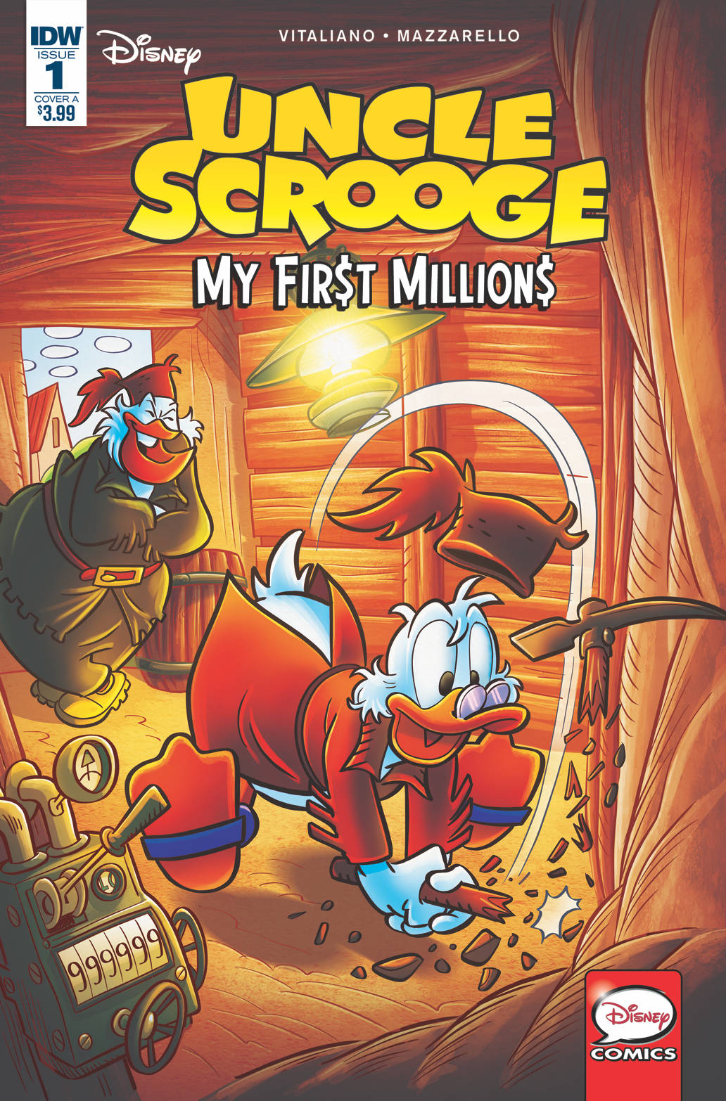 UNCLE SCROOGE MY FIRST MILLIONS #1 (OF 4) CVR A GERVASIO (09/26/2018)