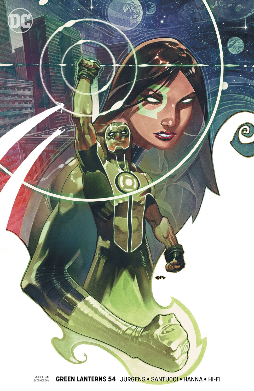 GREEN LANTERNS #54 VAR ED (09/05/2018)