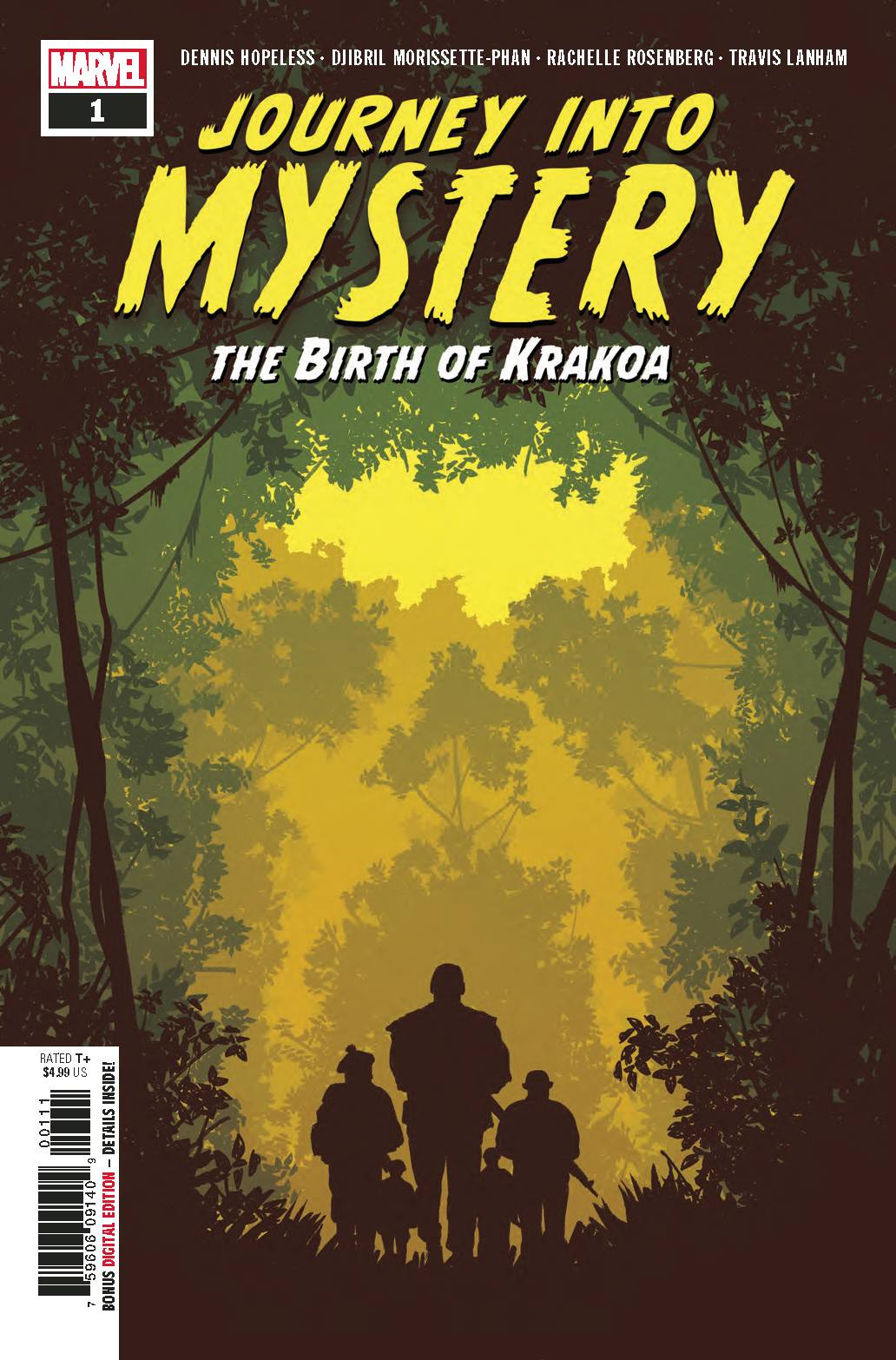 JOURNEY INTO MYSTERY BIRTH OF KRAKOA #1 (09/12/2018)
