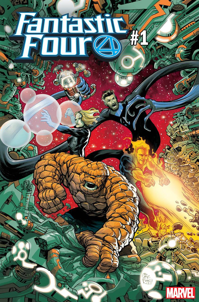 FANTASTIC FOUR #1 POWELL VAR (08/08/2018)