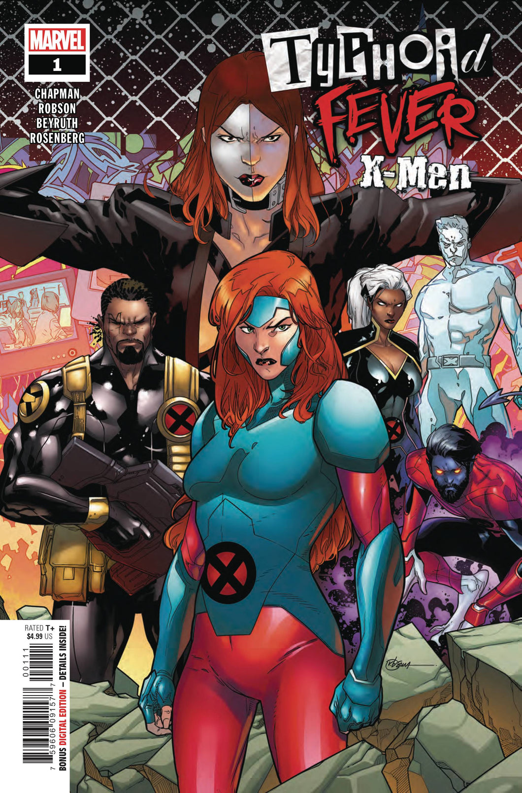 TYPHOID FEVER X-MEN #1 (11/07/2018)