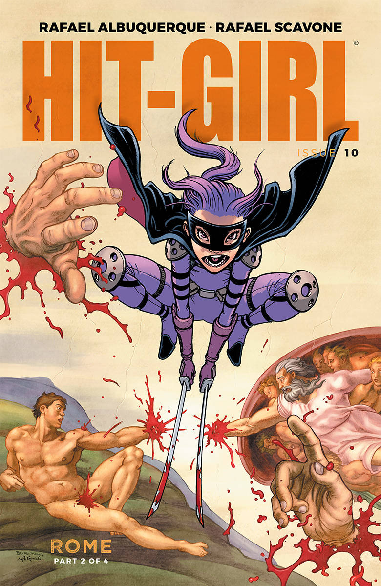 HIT-GIRL #10 CVR C BURNHAM (MR) (11/14/2018)