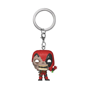 POCKET POP! MARVEL ZOMBIES DEADPOOL FIG KEYCHAIN