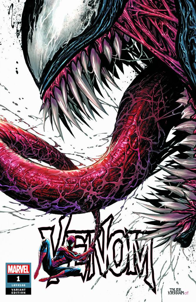 VENOM #1 TYLER KIRKHAM EXCLUSIVE COVER A