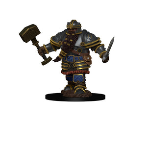 D&D Icons of the Realms Premium Figure Dwarf Male Fighter