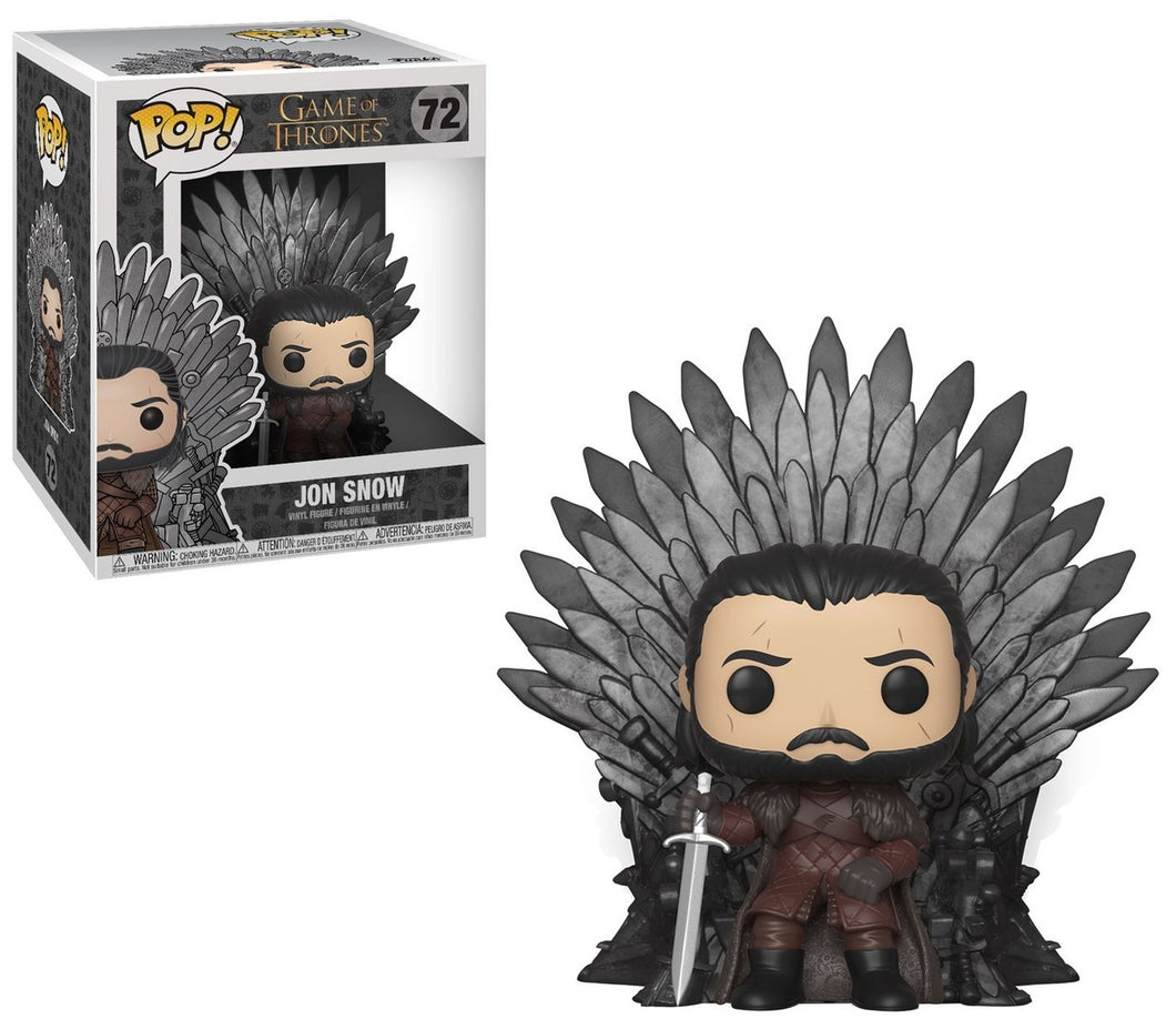 Funko POP! Deluxe: Game of Thrones - Jon Snow Sitting on Throne
