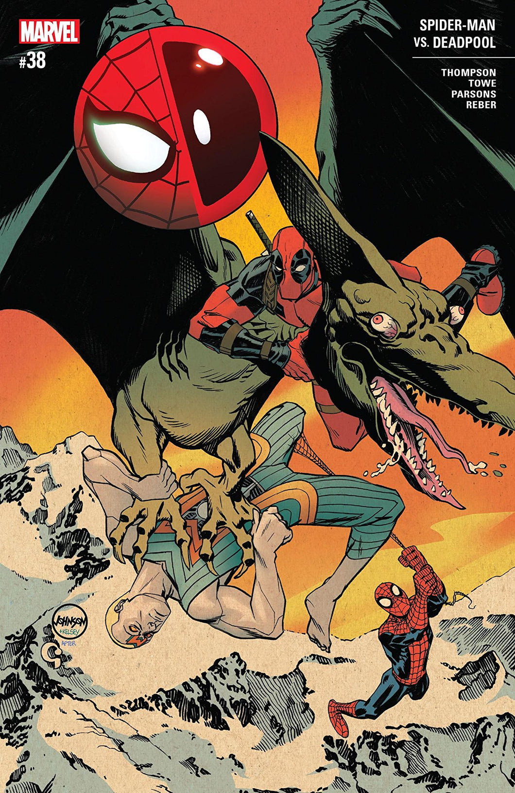 SPIDER-MAN DEADPOOL #38 (09/05/2018)