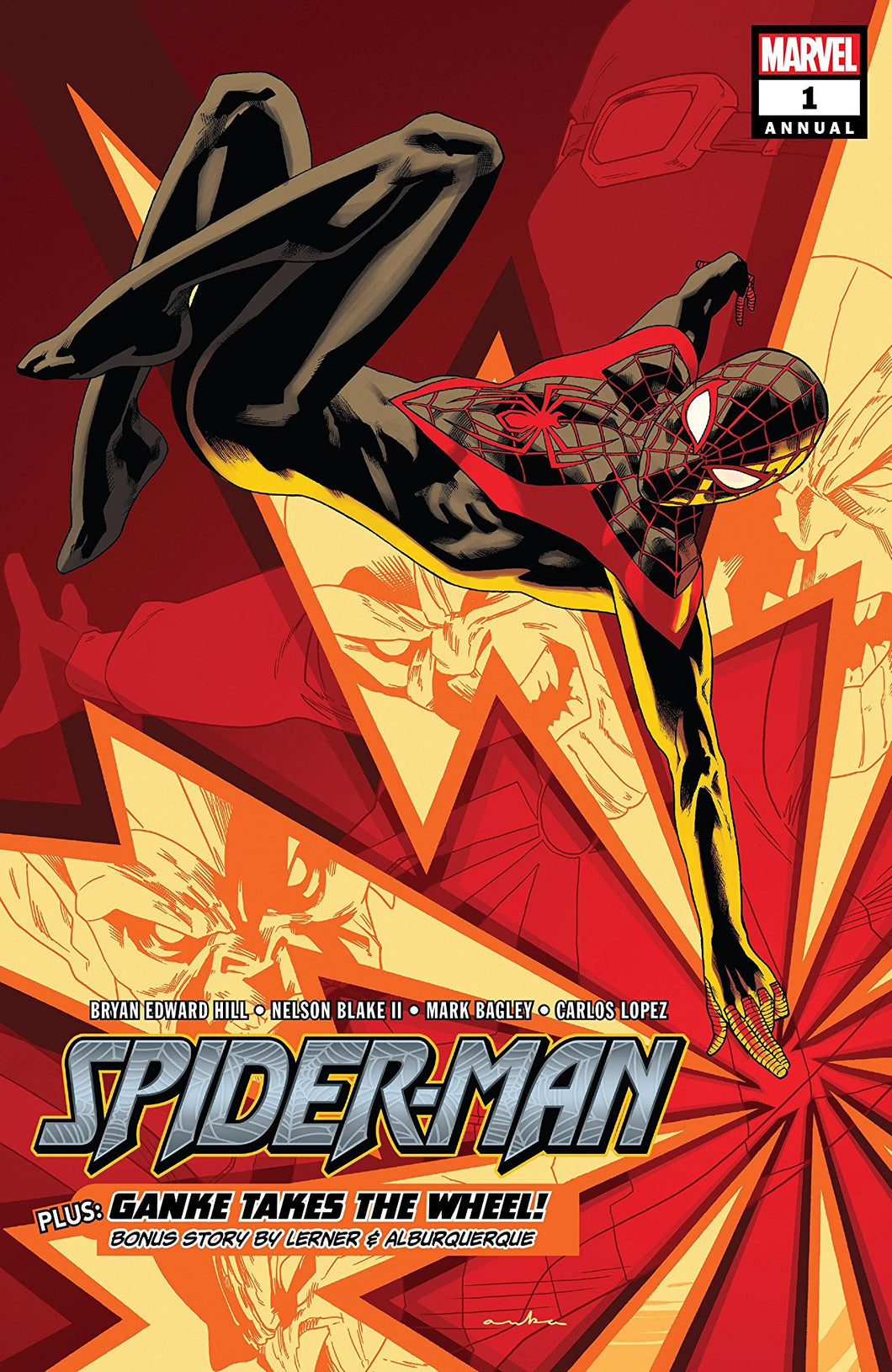 SPIDER-MAN ANNUAL #1 (08/08/2018)