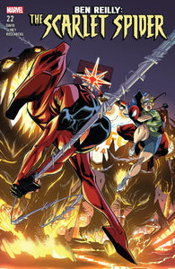 BEN REILLY SCARLET SPIDER #22 (08/01/2018)