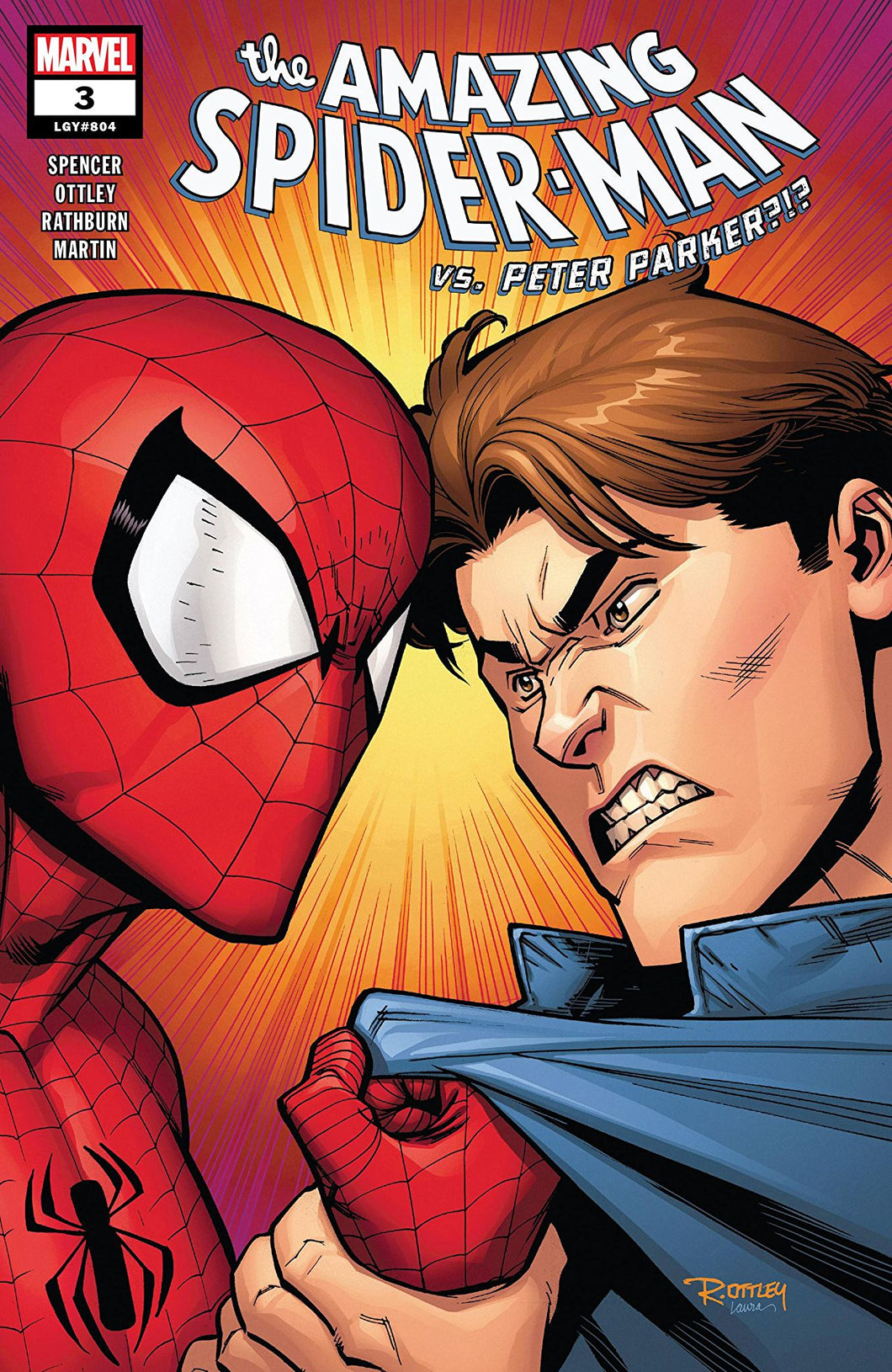 AMAZING SPIDER-MAN #3 (08/08/2018)