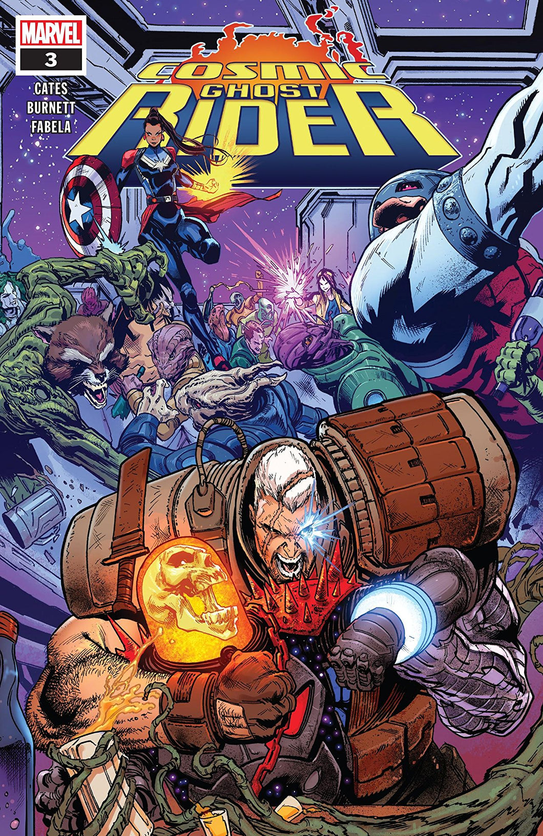 COSMIC GHOST RIDER #3 (OF 5) (09/05/2018)