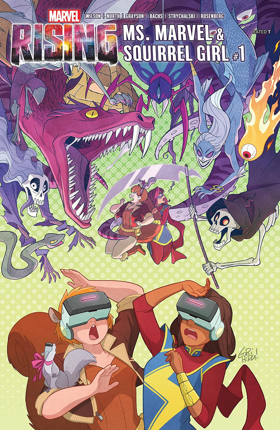 MARVEL RISING MS MARVEL SQUIRREL GIRL #1 (08/01/2018)