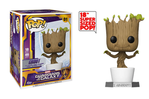 "Funko POP! Marvel: Guardians of the Galaxy - 18"" Dancing Groot"