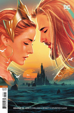AQUAMAN #40 VAR ED SINK ATLANTIS (09/19/2018)