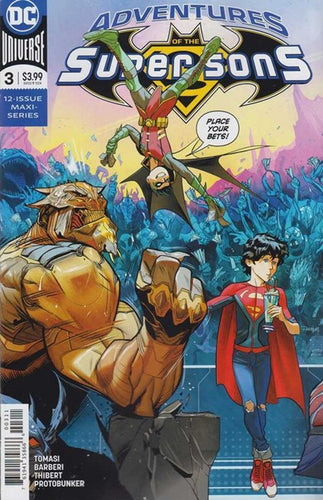 ADVENTURES OF THE SUPER SONS #3 (OF 12) (10/03/2018)