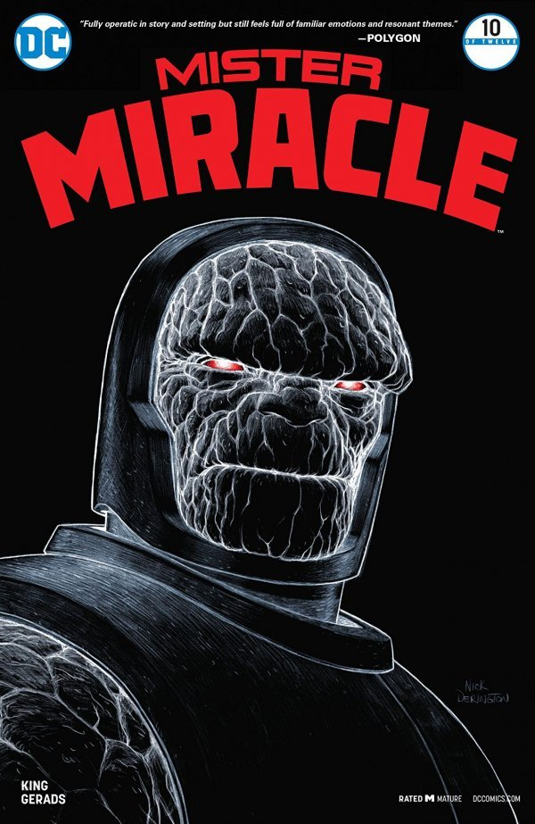 MISTER MIRACLE #10 (OF 12) (MR) (08/01/2018)