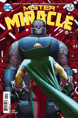 MISTER MIRACLE #11 (OF 12) (MR) (09/19/2018)