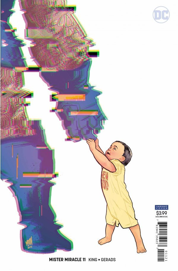 MISTER MIRACLE #11 (OF 12) VAR ED (MR) (09/19/2018)