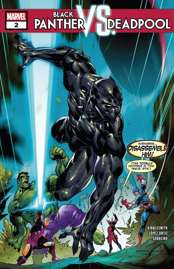 BLACK PANTHER VS DEADPOOL #2 (OF 5) (11/28/2018)