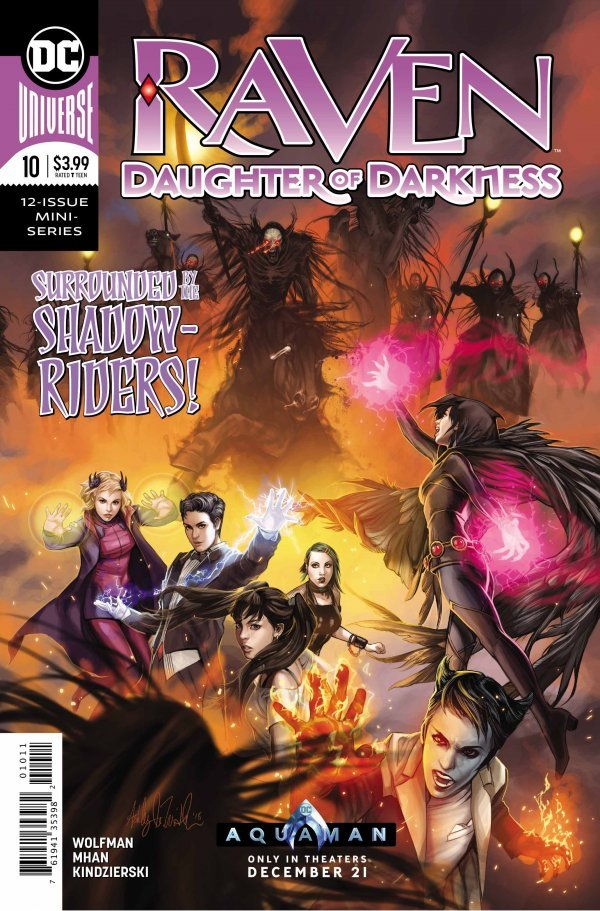 RAVEN DAUGHTER OF DARKNESS #10 (OF 12) (11/28/2018)