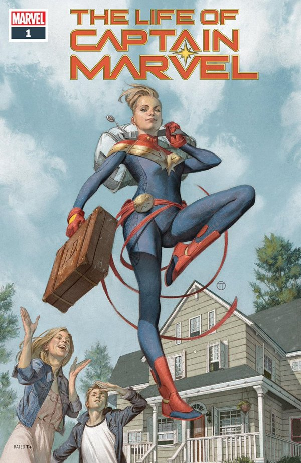 LIFE OF CAPTAIN MARVEL #1 (OF 5) (07/18/2018)