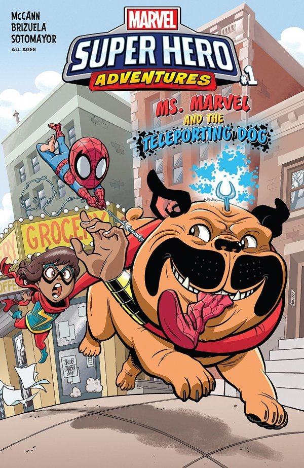 MSH ADVENTURES MS MARVEL TELEPORTING DOG #1 (07/18/2018)