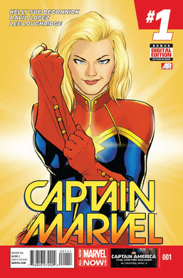 CAPTAIN MARVEL #1 VOL 8 (2014) (VF/NM)